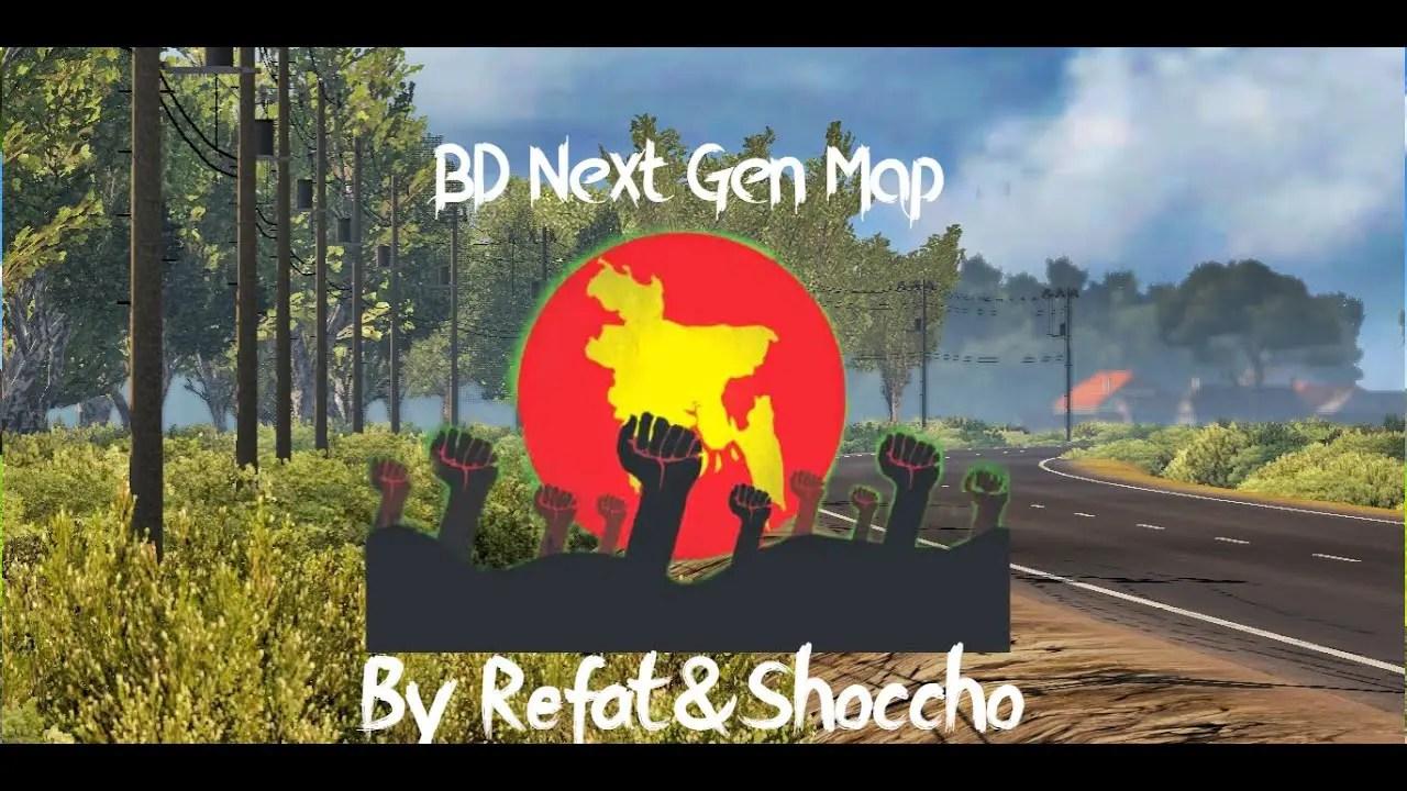 BD Next Gen Map for ETS2 V1.35, ETS2 BD Map