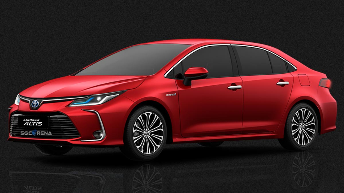 Download New Toyota Corolla Altis 2019 Car mod for Bus Simulator Indonesia by AzuMods, Download Toyota Car Mod for BUSSID, BUSSID Car Mod