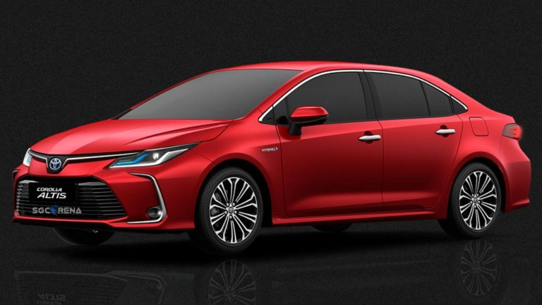 Toyota Corolla Altis 2019 Car Mod for BUSSID