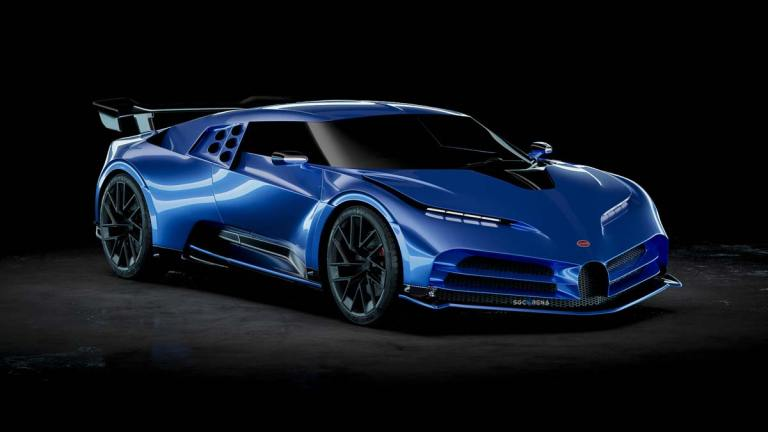 Bugatti Centodieci 2020 Super Car Mod for BUSSID