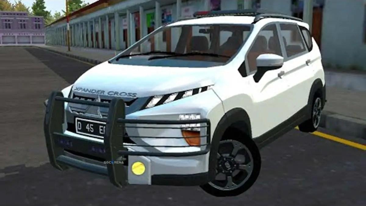 Download Mitsubishi Xpander Cross Off-Road Car Mod for BUSSID, Mitsubishi Xpander Cross Off-Road, BUSSID Car Mod, BUSSID Vehicle Mod, Dasep Pratama, Mitsubishi