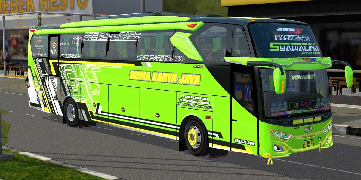 Download JetBus 3+ SHD Voyager Bus Mod for BUSSID, JetBus 3+ SHD Voyager, BUSSID Bus Mod, BUSSID Vehicle Mod, JetBus3+, MD Creation