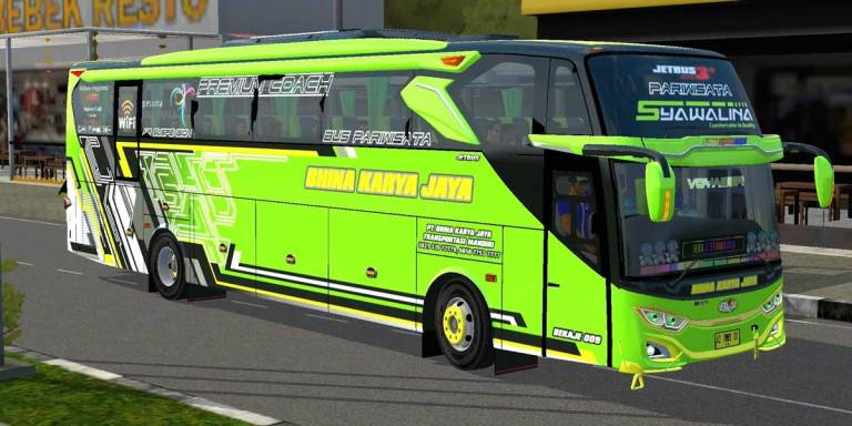 JetBus 3+ SHD Voyager Bus Mod for BUSSID