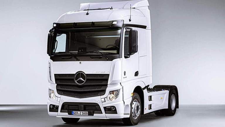 Mercedes-Benz Actros Truck Mod for BUSSID