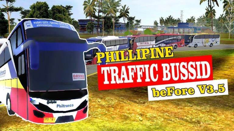 BUSSID Philippine Traffic Mod for V3.4