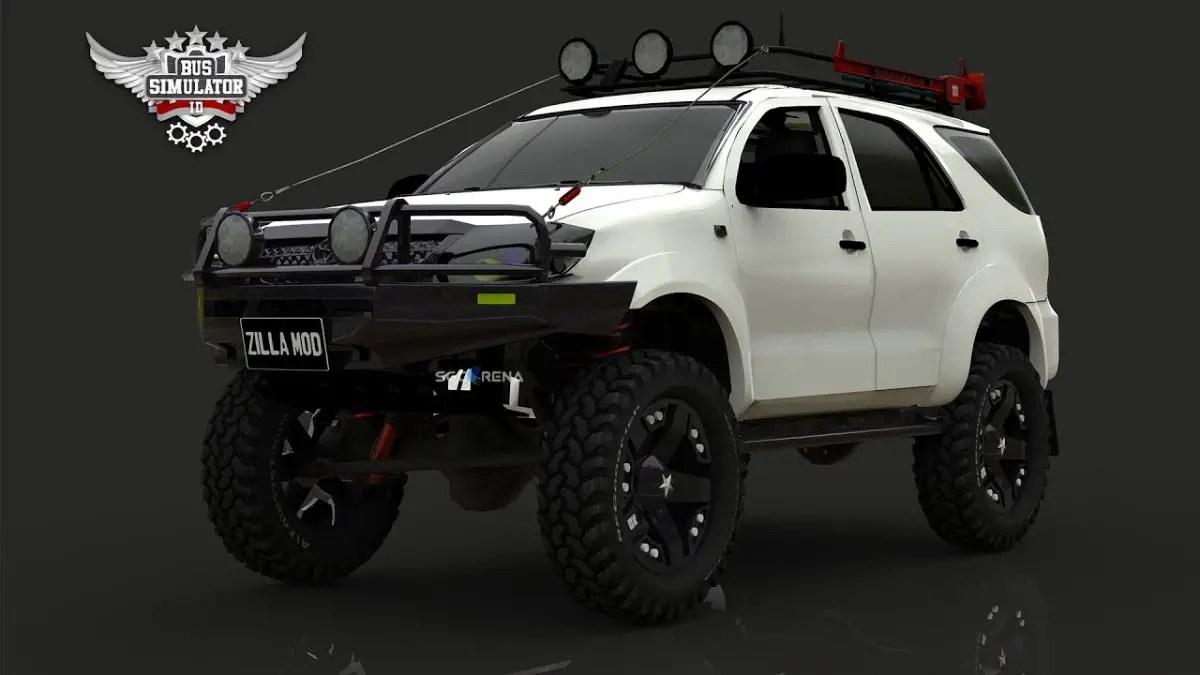 Download Toyota Fortuner Off-Road Car Mod for BUSSID, Toyota Fortuner Off-Road, BUSSID Car Mod, BUSSID Vehicle Mod, Toyota, Toyota Fortuner Mod, Zilla