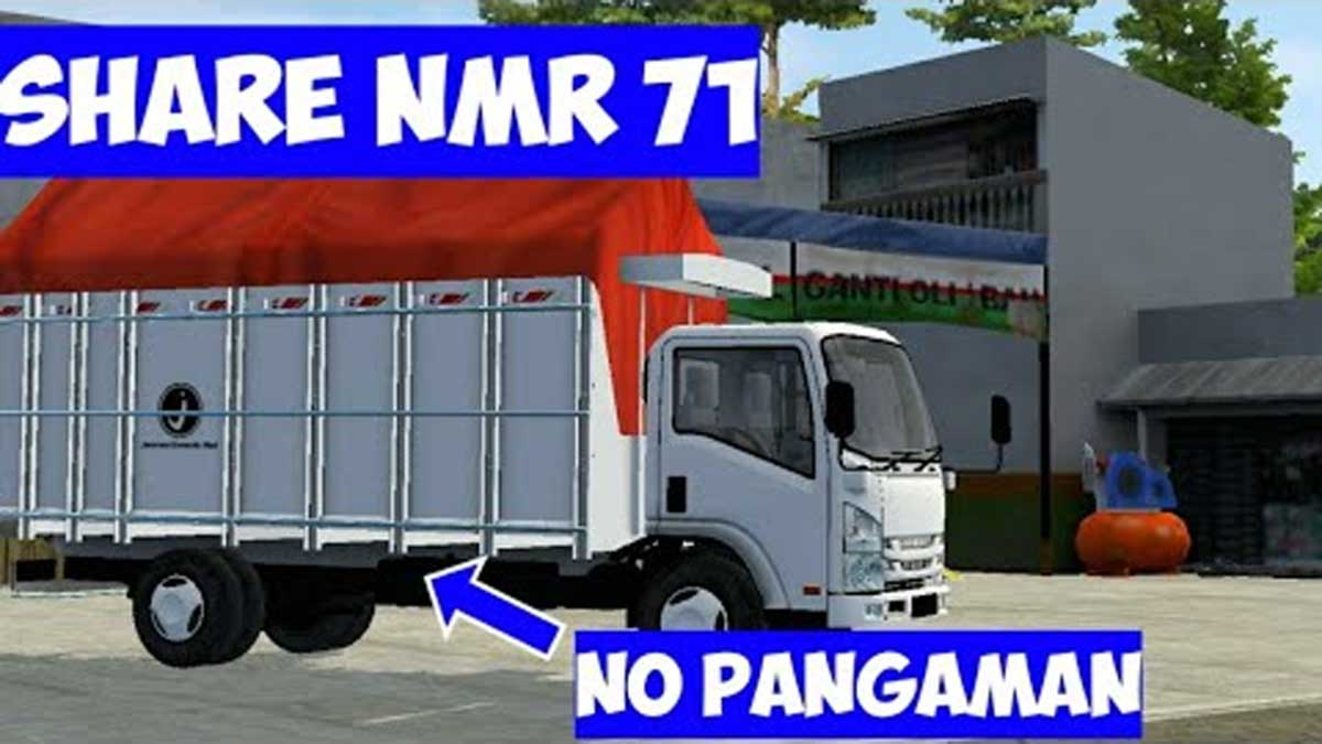 Download NMR71 No Safety Truck Mod for BUSSID, NMR71 No Safety, BUSSID Truck Mod, BUSSID Vehicle Mod, JDM, NMR71 Mod