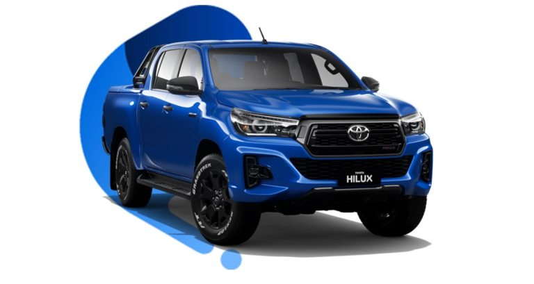 Toyota Hilux 2019 Truck Mod for BUSSID