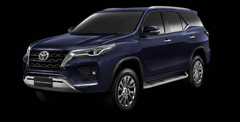 Toyota Fortuner Facelift 2020 Car Mod for BUSSID