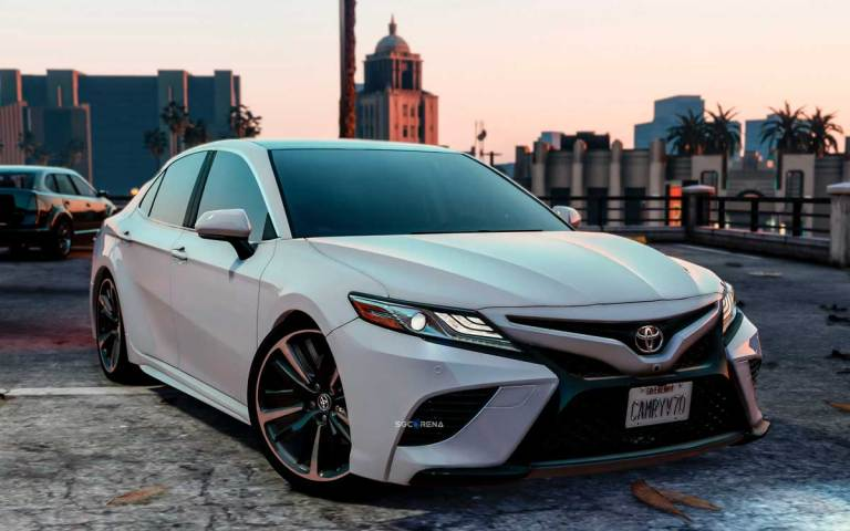 Toyota Camry XSE 2018 Car Mod for BUSSID