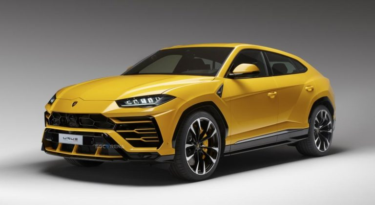 Lamborghini Urus Super Car Mod for BUSSID