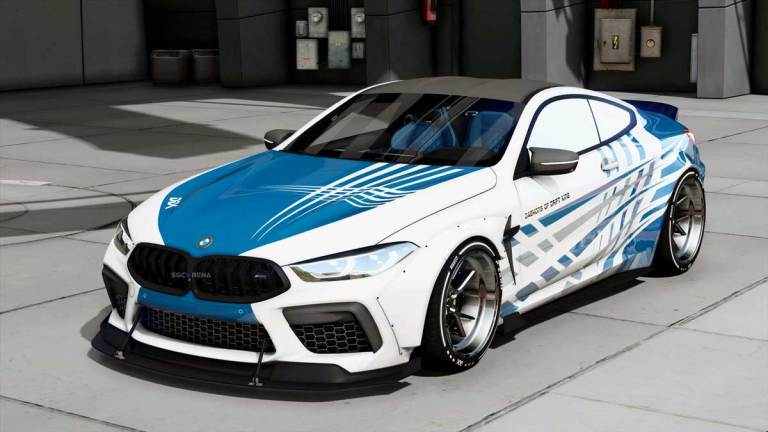 BMW M8 Competition Car Mod for BUSSID