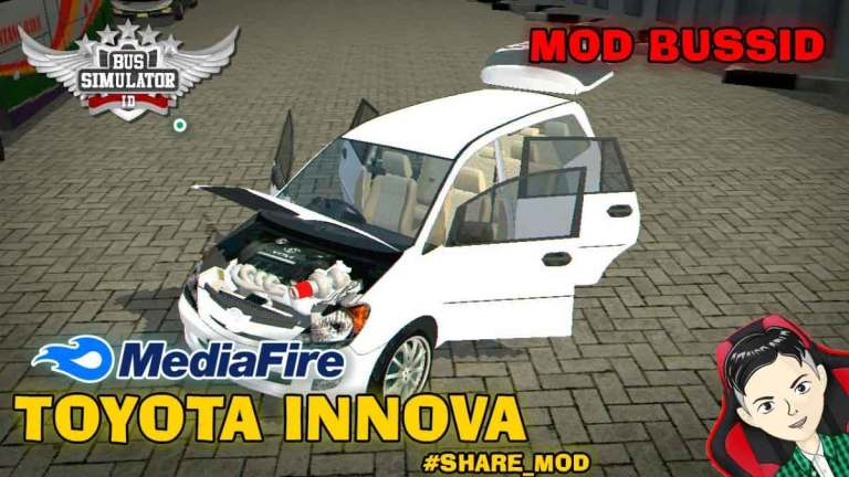 Toyota Innova Car Mod for BUSSID