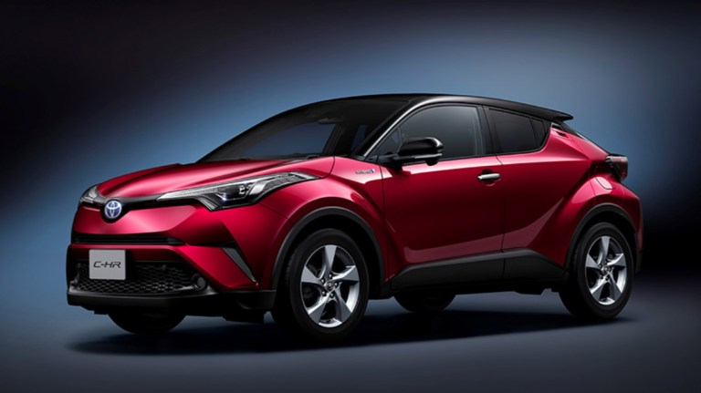 Toyota C-HR Car Mod for BUSSID