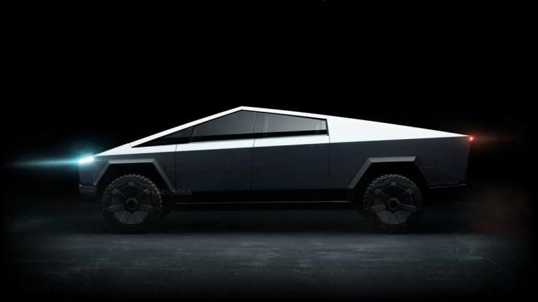 Tesla Cybertruck Mod for Bus Simulator Indonesia