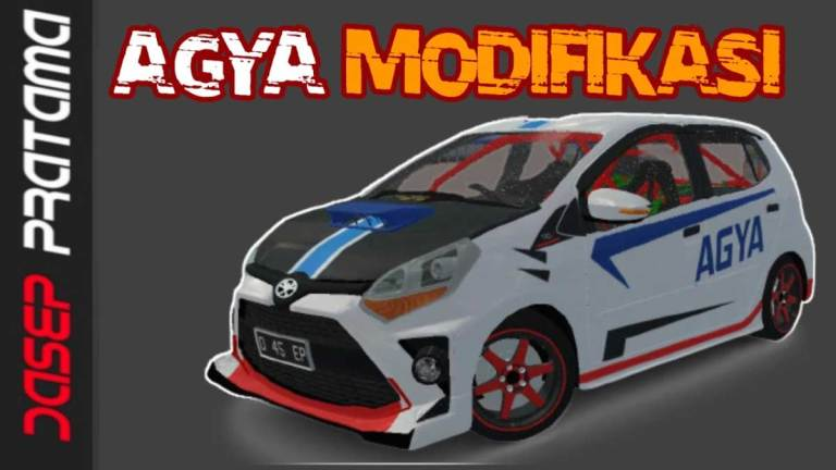 Toyota Agya Modifikasi Car Mod for BUSSID