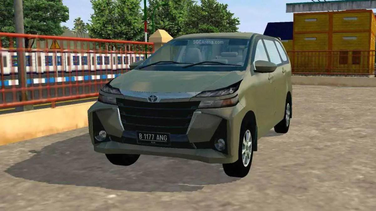 Toyota Avanza G Car Mod For Bussid Sgcarena