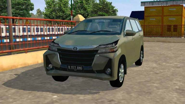 Toyota Avanza G Car Mod for BUSSID