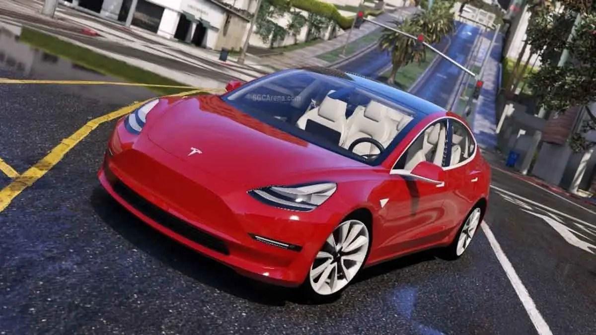 Download Tesla Model 3 2018 Car Mod for BUSSID, Tesla Model 3 2018 Car Mod, BUSSID Car Mod, BUSSID Vehicle Mod, MAH Channel, Tesla