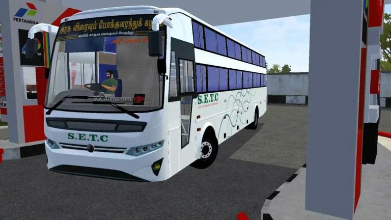 Setc Vega Non Ac Sleeper cum Seater Bus Mod V1