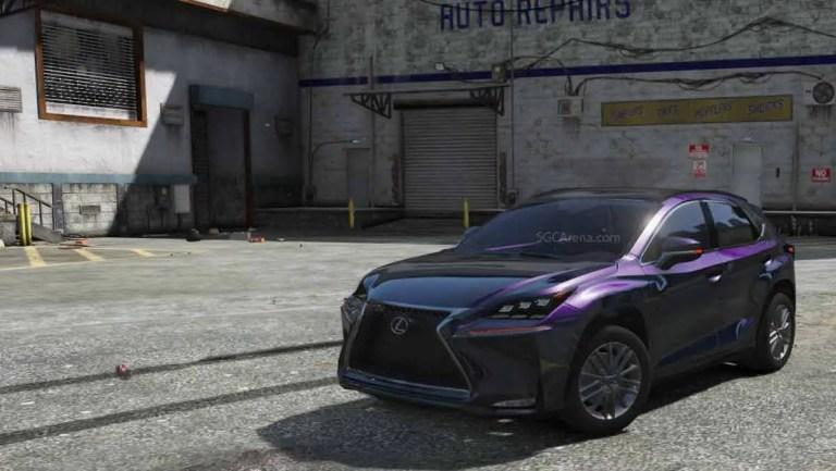 Lexus NX200T Car Mod BUSSID