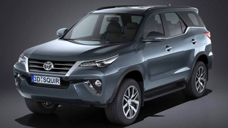 Toyota Fortuner 2017 Car Mod BUSSID
