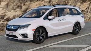 Download 2019 Honda Odyssey Elite Car Mod BUSSID, 2019 Honda Odyssey Elite Car Mod, BUSSID Car Mod, BUSSID Vehicle Mod, Honda, MAH Channel