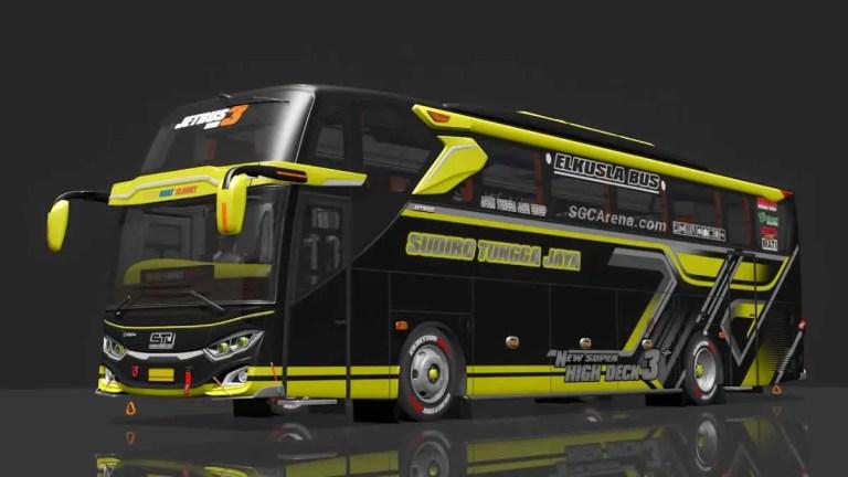 JB3 SHD RK8 Hino Facelift Bus Mod BUSSID