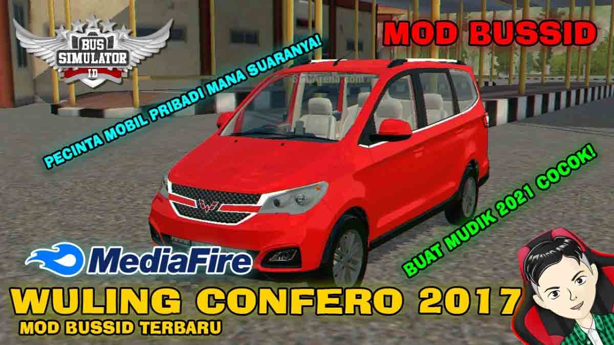 Download Wuling Confero 2017 Car Mod BUSISD, Wuling Confero 2017 Car Mod BUSISD, BUSSID Car Mod, BUSSID Vehicle Mod, MAH Channel, Wuling