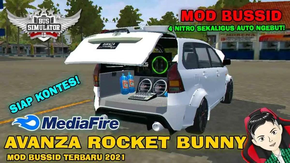 Download Avanza Rocket Bunny Car Mod BUSSID, Avanza Rocket Bunny Car Mod, BUSSID Car Mod, BUSSID Vehicle Mod, MAH Channel, Toyota Avanza