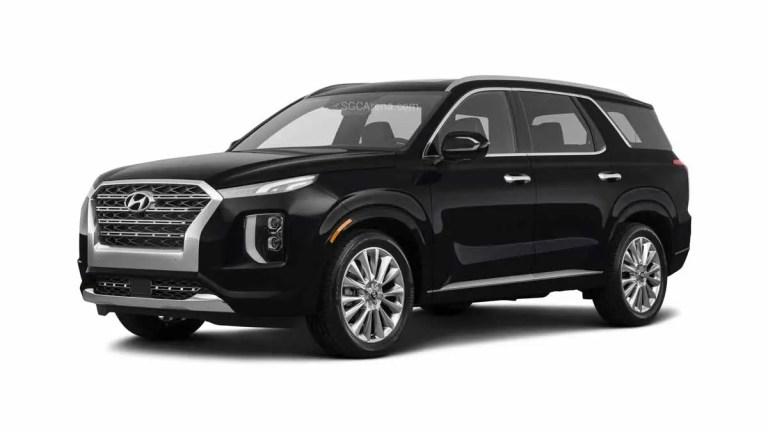 2021 Hyundai Palisade Car Mod BUSSID