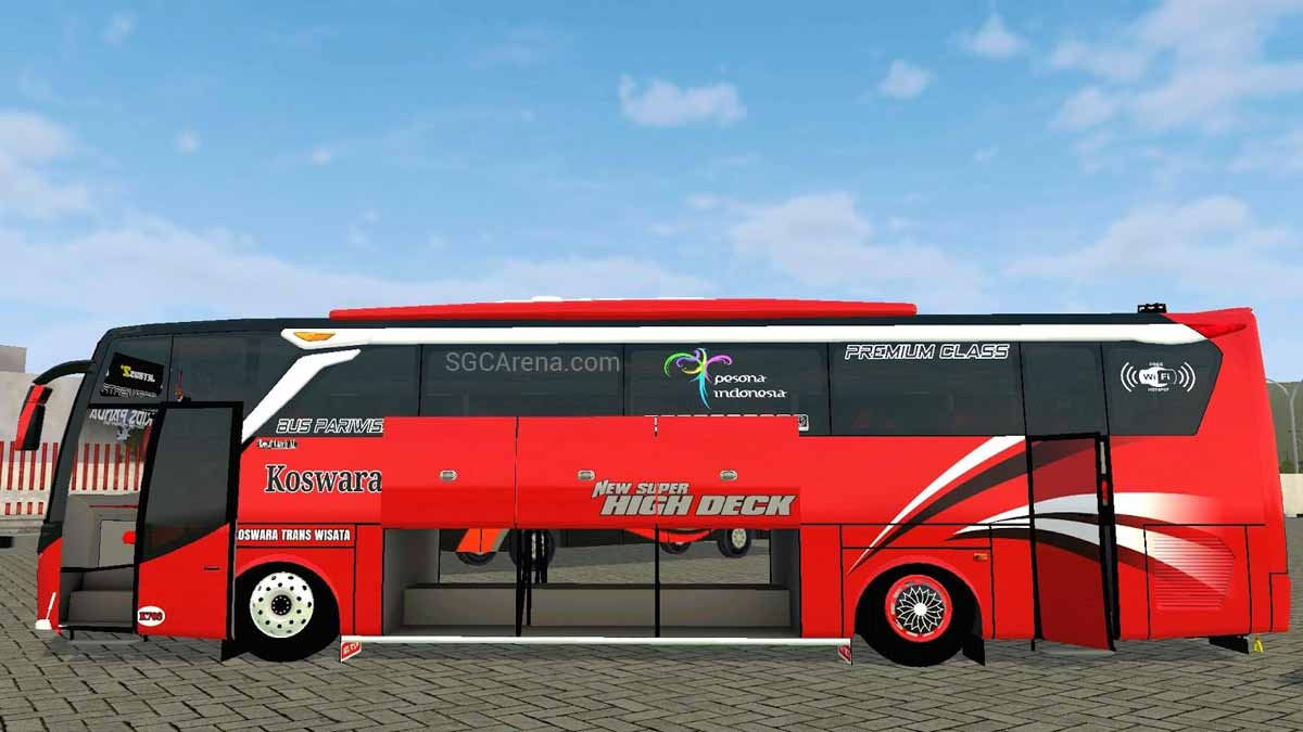 Download Jetbus 2+ Special Edition Bus Mod for BUSSID, Jetbus 2+ Special Edition Bus Mod, BUSSID Bus Mod, BUSSID Vehicle Mod, JetBus2, MD Creation