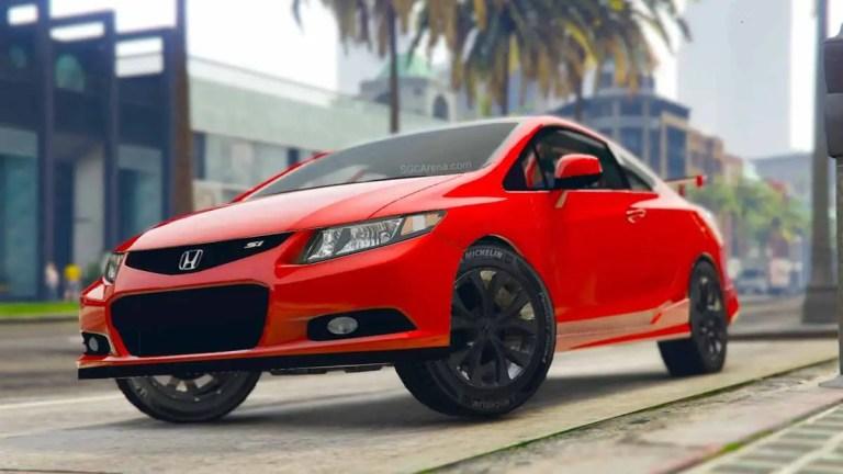 Honda Civic SI 2012 Car Mod BUSSID