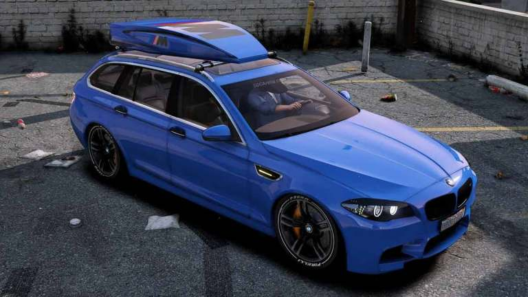 BMW M5 Touring Car Mod for BUSSID