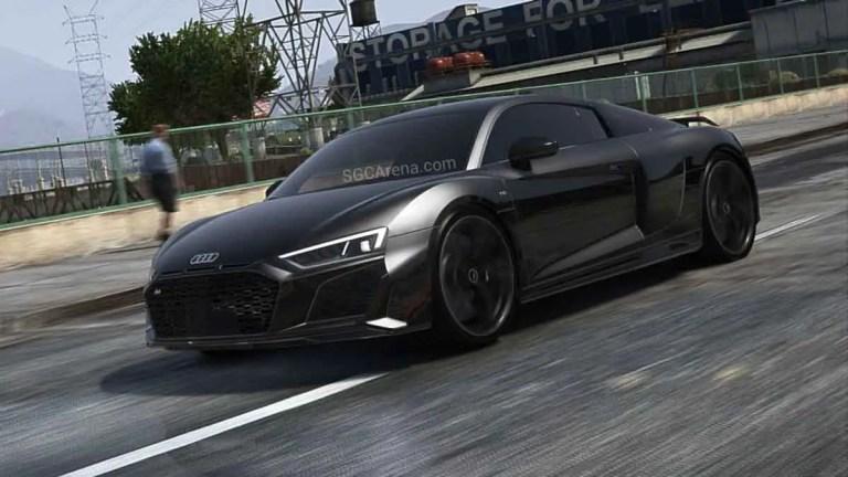 Audi R8 Terbaru Car Mod for BUSSID