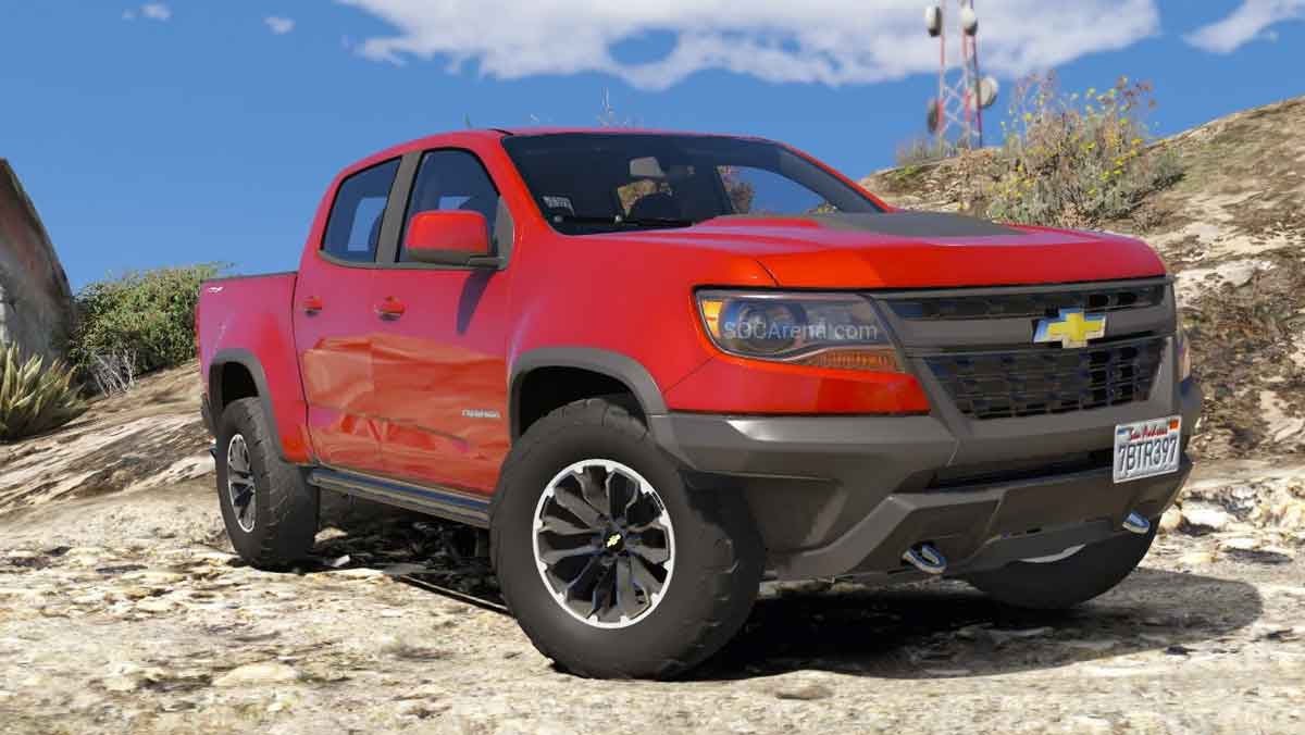 Download Chevrolet Colorado ZR2 Mod for BUSSID, Chevrolet Colorado ZR2 Mod, BUSSID Truck Mod, BUSSID Vehicle Mod, Chevrolet, MAH Channel