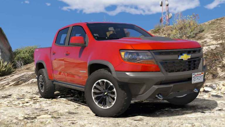 Chevrolet Colorado ZR2 Mod for BUSSID