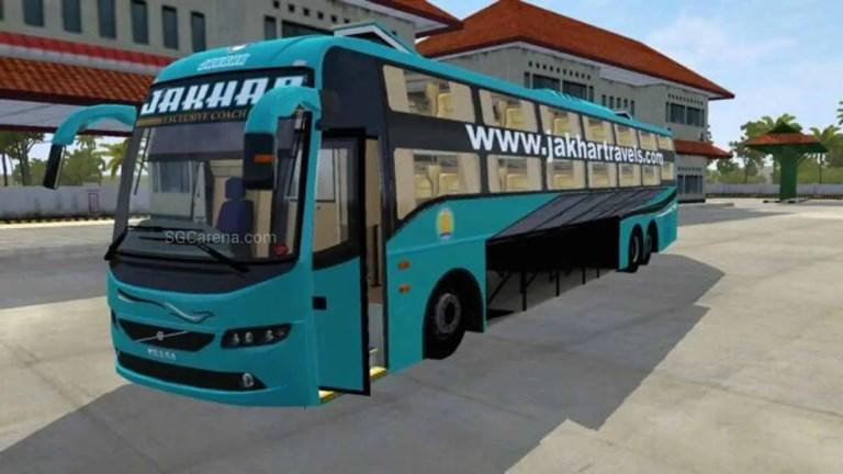 Volvo B11r Sleeper Bus Mod for BUSSID