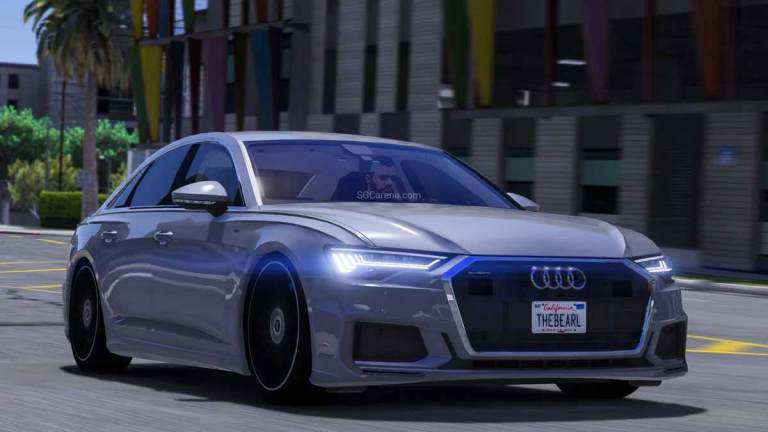 Audi A6 Car Mod for BUSSID