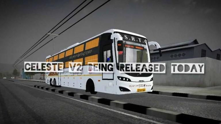 Prakash Celeste V2 Volvo Sleeper Bus Mod for BUSSID