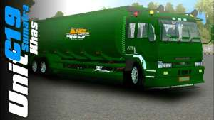 Download Fuso Great Tangki Truck Mod for BUSSID, Fuso Great Tangki Truck Mod, AJB, BUSSID Truck Mod, BUSSID Vehicle Mod, Fuso Truck, SMC