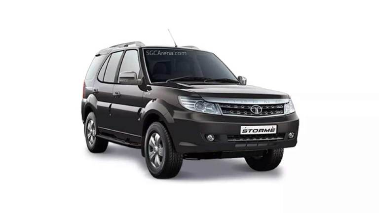 Tata Safari Storme SUV Mod for BUSSID