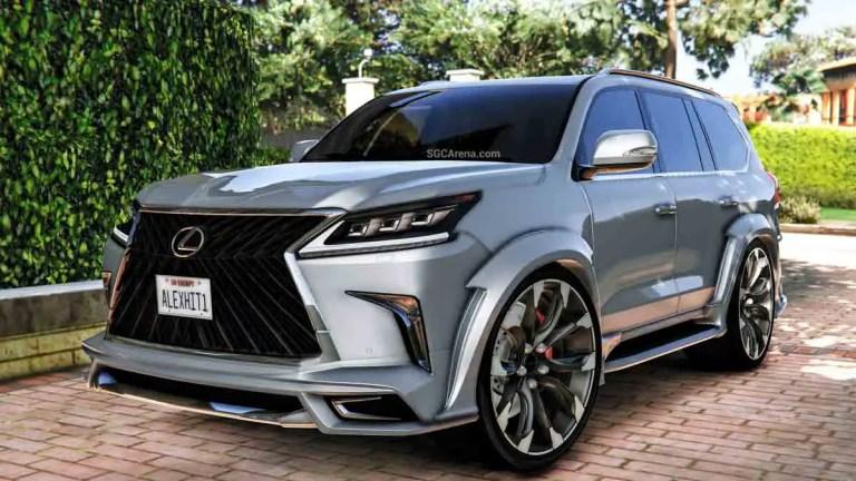 Download Lexus LX570 WALD Car Mod BUSSID, Lexus LX570 WALD Car Mod, BUSSID Car Mod, BUSSID Vehicle Mod, Lexus, MAH Channel