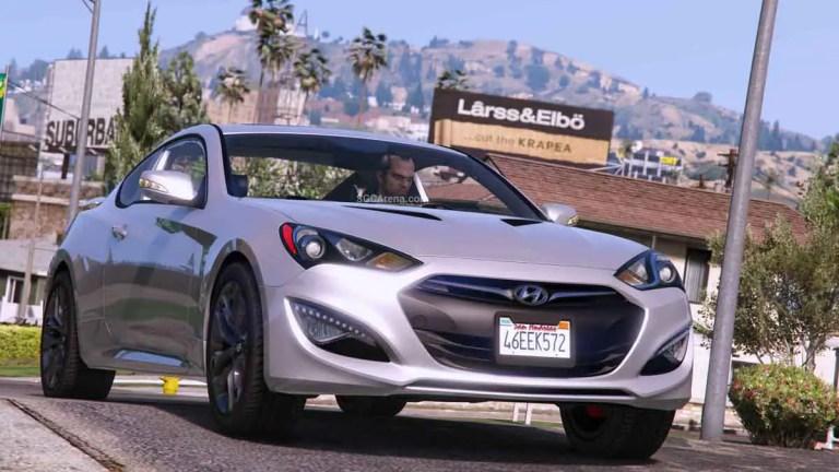 Hyundai Genesis Car Mod BUSSID