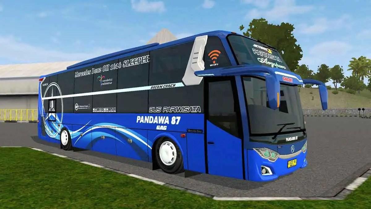Download Jetbus 3+ Dream Coach Bus Mod BUSSID, Jetbus 3+ Dream Coach Bus Mod, BUSSID Bus Mod, BUSSID Vehicle Mod, JetBus 3, JetBus3+, MD Creation