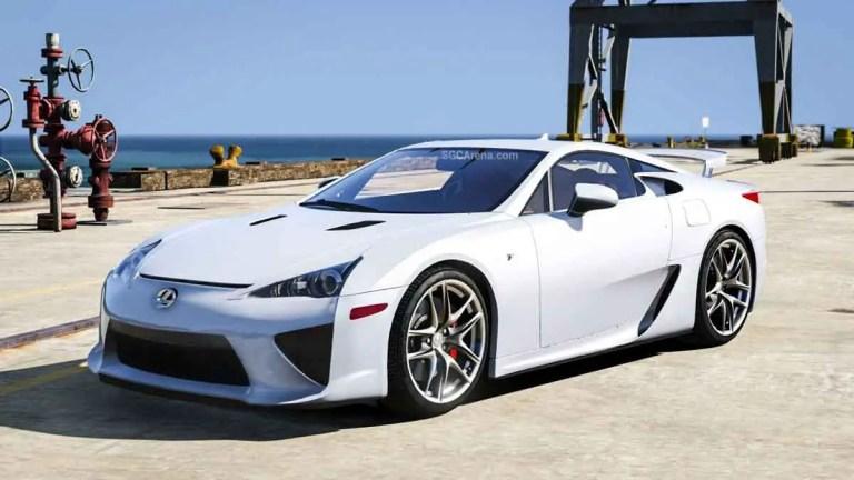 Lexus LFA Car Mod BUSSID