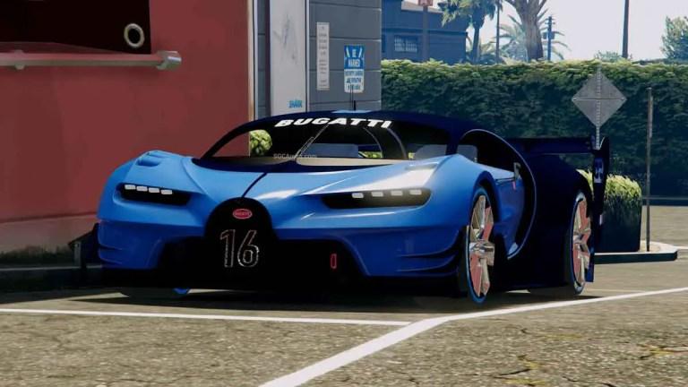 Bugatti Vision GT Car Mod BUSSID