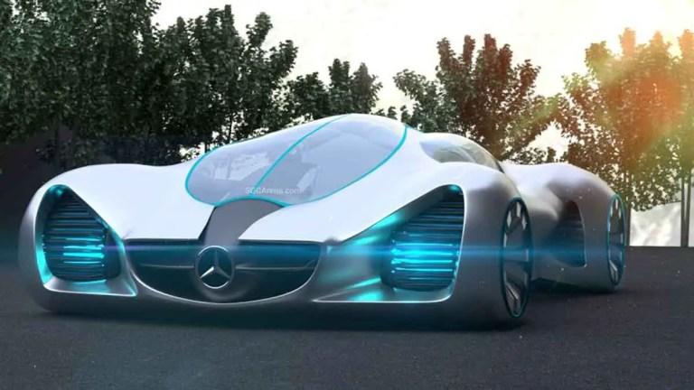 Mercedes-Benz Biome Concept Car Mod BUSSID