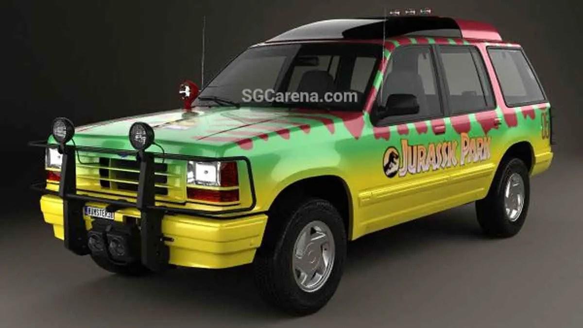 Download Ford Explorer Jurassic Park Mod BUSSID, Ford Explorer Jurassic Park, BUSSID Car Mod, BUSSID Vehicle Mod, Ford, MAH Channel