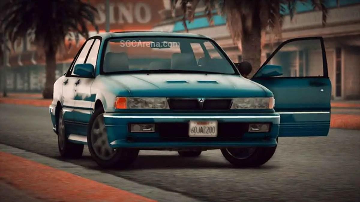 Download Mitsubishi Galant Car Mod BUSSID, Mitsubishi Galant, BUSSID Car Mod, BUSSID Vehicle Mod, MAH Channel, Mitsubishi
